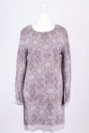 Cream Kleid mit Muster lila Größe 40