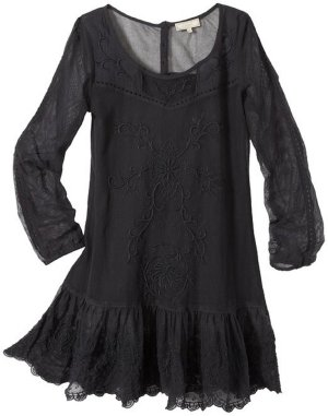 cream kleid tunika S 36