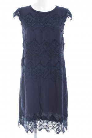 Cream Kurzarmkleid dunkelblau Elegant