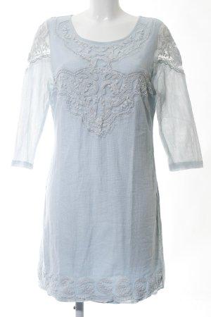 Cream Langarmkleid blau Casual-Look