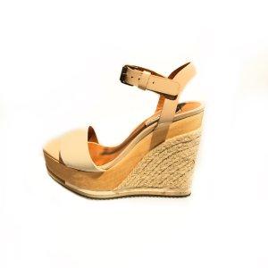 Cream Lanvin High Heel
