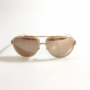 Cream Linda Farrow Sunglasses