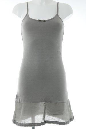 Cream Longshirt silberfarben Lingerie-Look