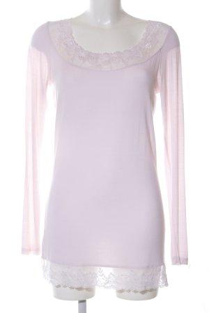 Cream Longshirt wollweiß-pink Casual-Look