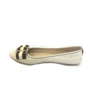 Cream Louis Vuitton Flat