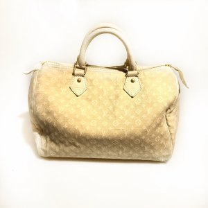 Cream Louis Vuitton Shoulder Bag