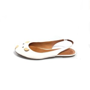 Cream Marc By Marc Jacobs Flat