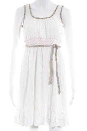 Cream Minikleid mehrfarbig Romantik-Look