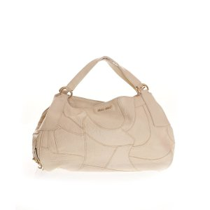 Cream Miu Miu Shoulder Bag
