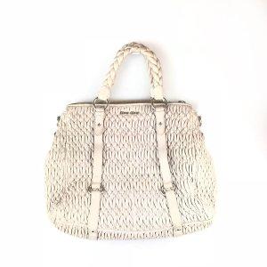 Cream Miu Miu Shoulder Bag