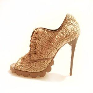 Cream Pollini High Heel