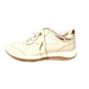 Cream Prada Sneaker