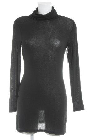 Cream Sweater Dress black casual look