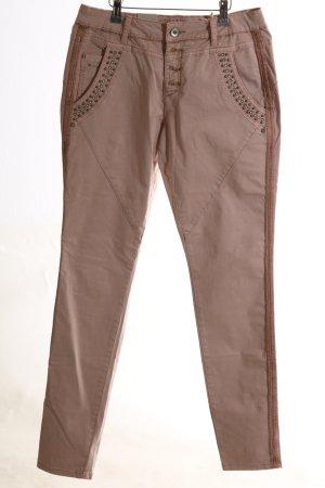 Cream Röhrenhose bronzefarben Casual-Look
