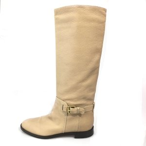 Cream Sergio Rossi Boot