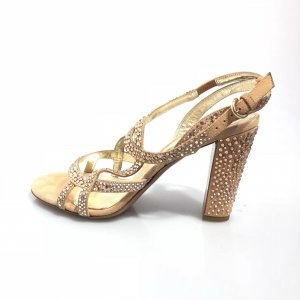 Cream Sergio Rossi High Heel