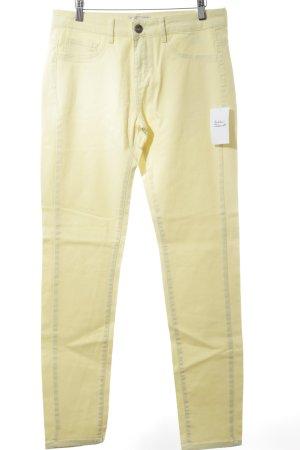 """Cream Slim Jeans """"Cate"""" gelb"""