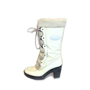 Cream Tod's Boot