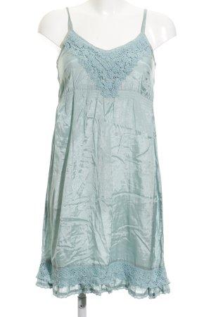 Cream Trägerkleid blassblau Elegant