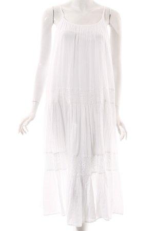 Cream Trägerkleid weiß Beach-Look