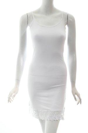 Cream Trägerkleid weiß klassischer Stil