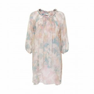 cream tunika/kleid pastell 36
