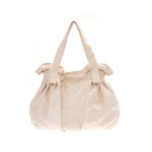 Cream zagliani Shoulder Bag