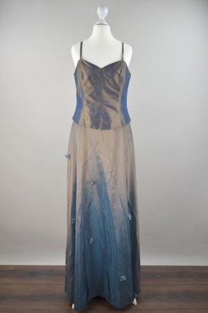 Creation Chou Chou Abendkleid Ballkleid braun Größe 38