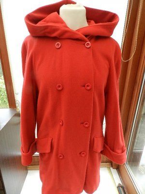 Wool Coat red new wool