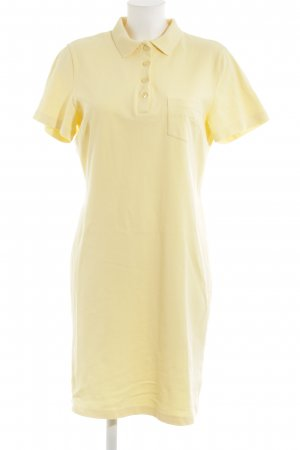 Creation L. Robe Polo jaune clair style classique