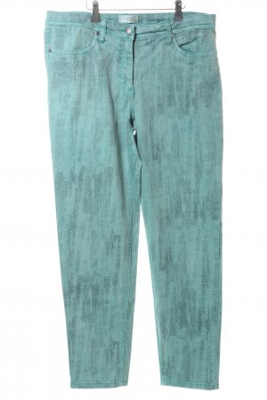 Creation L. Slim Jeans turquoise casual look