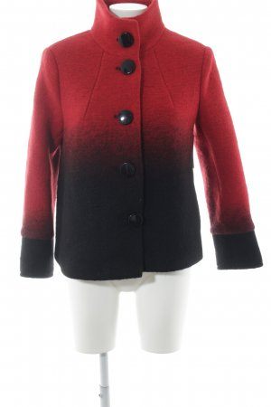 Creation L. Wool Jacket red-black color gradient classic style