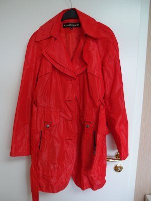 Creenstone Trenchcoat rouge clair-rouge