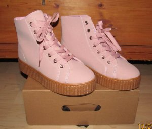 Creepers in rosa High Top