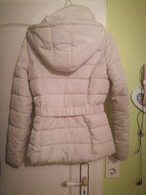 Creme/beige Winterjacke