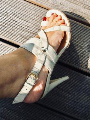 Creme Farbene Sergio Rossi Heels