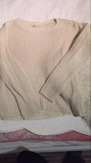 Creme farbener hollister Pullover