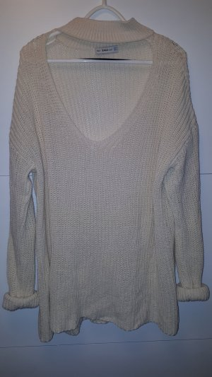 Creme knit Pullover
