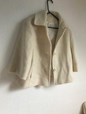 Creme kurzer Mantel, Gr.L