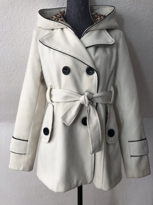 Short Coat natural white-cream