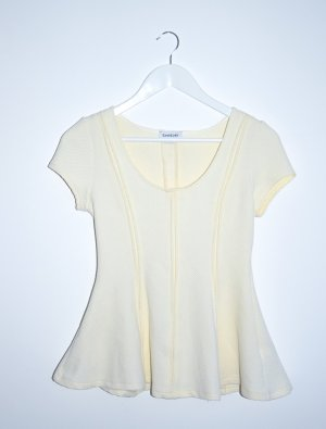 bebe Empire Waist Shirt cream
