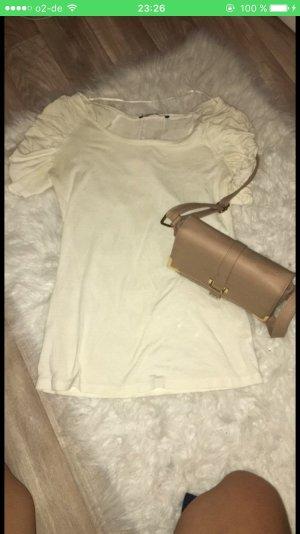 Creme weiß Damenshirt