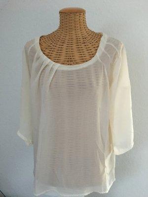 Creme weiße Bluse von Hallhuber