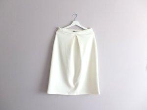 Asos Midi Skirt natural white-white