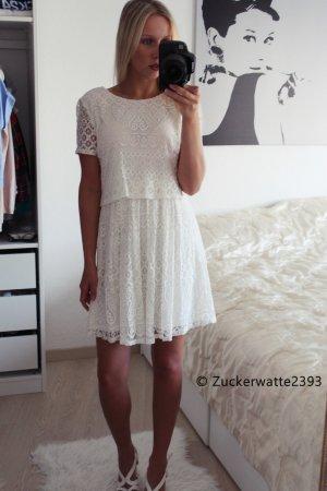 (creme)weißes Kleid F21 XS/34
