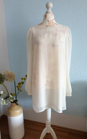 creme-weißes Kleid, Minikleid, Etuikleid von Fräulein Stachelbeere