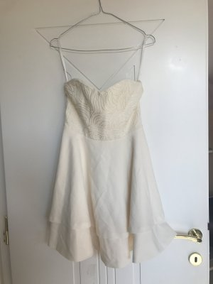 creme-weißes Kleid, neu, Größe 36