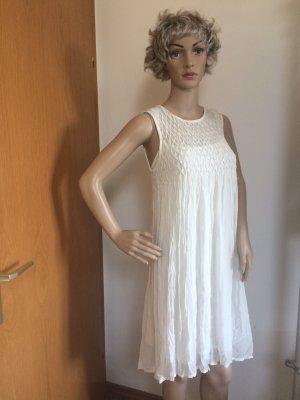 Creme weißes Kleid von Mango Suit Gr S