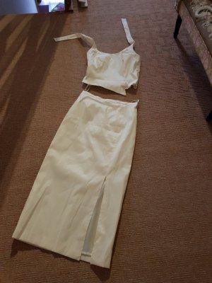 vivian caron Robe de bal crème