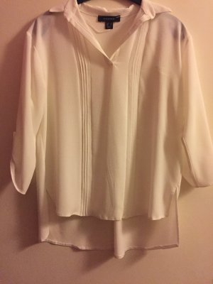 Cremefarbene Bluse